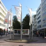 Fahnen am Rathausplatz
