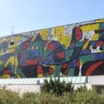 Wand von Museum
